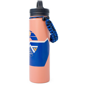 United By Blue Geo Mountain Stainless Steel Bottle 650ml orange
